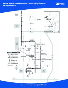 Route 40 detail map