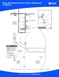 Route 483 detail map